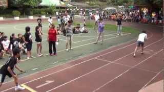 2012-10-27體育表演會:高年級100公尺賽跑