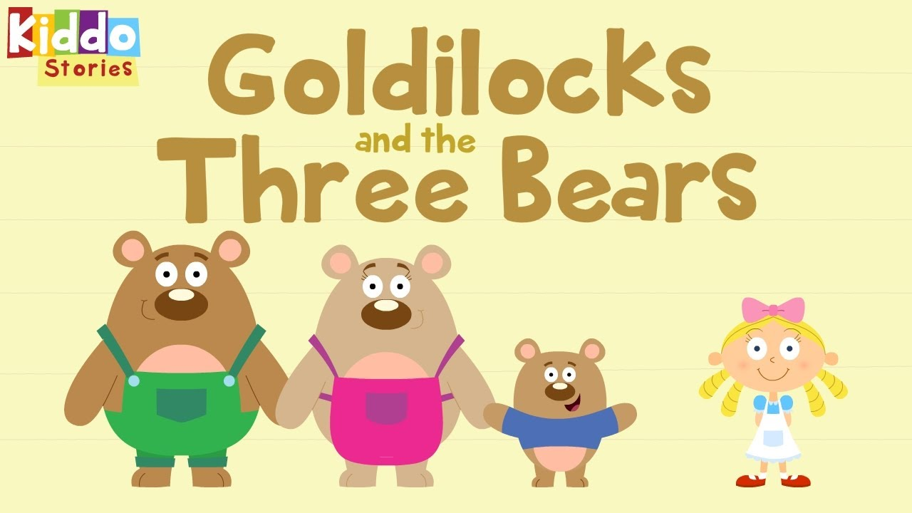 Uncategorized And The Three Bears fairy tales as short bedtime stories the story of goldilocks and 3 bears youtube