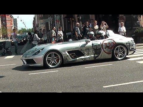 McLaren Mercedes SLR Stirling Moss - GUMBALL 3000
