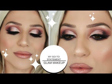 MY GO TO GLAM STATEMENT MAKEUP LOOK || GIO DREVELI ||