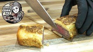牛フィレ肉のアンクルート マロンとポム・ドゥース Beef fillet en crote marrons and pomme dose【ラファエルクッキング Raphael cooking】【4K】