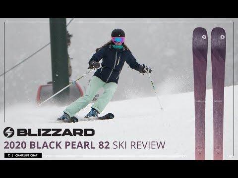 2020 Blizzard Black Pearl 82 Women's Ski Review - YouTube