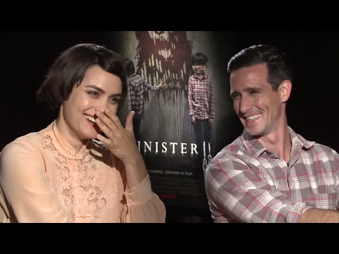 Sinister 2 : James Ransome and Shannyn Sossamon