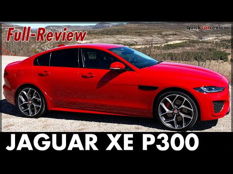 JAGUAR XE P300 - Facelift for the Middle Class Sedan MY 2020 Test Review Price Consumption English