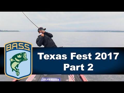 Bassmaster Elite: Texas Fest 2017 Part 2