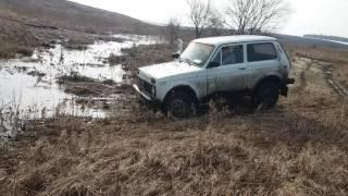 ВАЗ Нива 2121 проходимость снег грязь