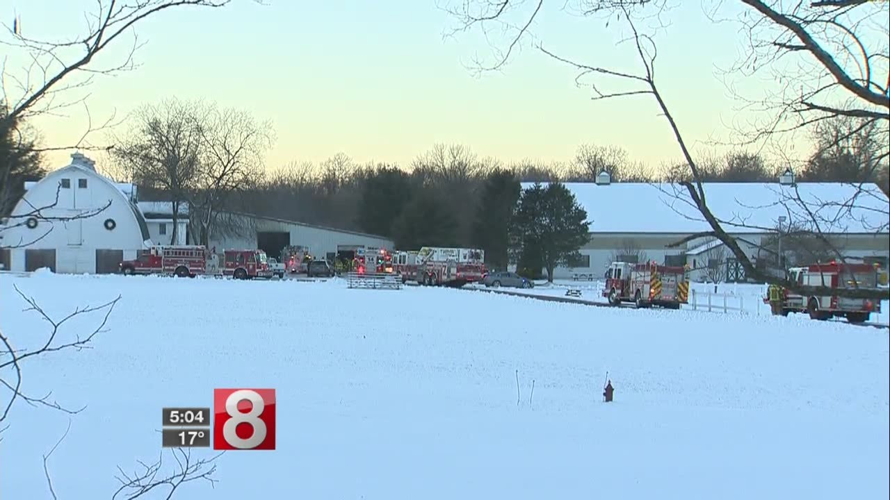 Barn fire that killed 24 horses ruled electrical fire - Dauer: 29 Sekunden
