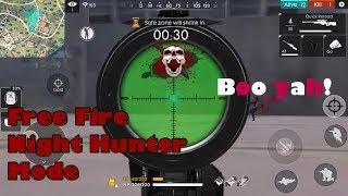 Garena Free Fire    Night Hunter Mode    RohaNation Gaming