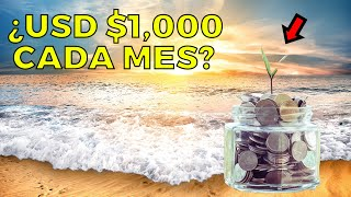 ¿Cuántas acciones necesitas para ganar USD $1,000 al mes?