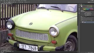 Photoshop-Návod-Rez na autě