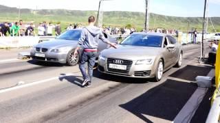 AUDI A7 TFSI vs BMW E60 3.0D