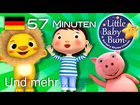 Kinderlieder zum mitsingen | Und noch viele weitere Kinderreime | von LittleBabyBum