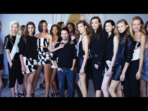 Anthony Vaccarello's Supermodel Squad: Cara Delevingne, Karlie Kloss | MODTV