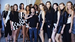 Anthony Vaccarello's Supermodel Squad: Cara Delevingne, Karlie Kloss | MODTV(http://www.mod-tv.com This week Anthony Vaccarello was named the new Creative Director of Saint Laurent. Go backstage with Anthony Vaccarello' and his ..., 2016-04-06T15:20:37.000Z)