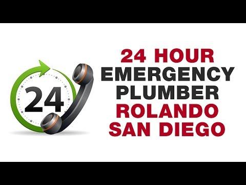 24 Hour Emergency Plumber Rolando San Diego California (619) 880-5644