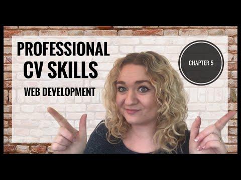Professional CV Coding Skills - Web Development Mini Series - Chapter Five