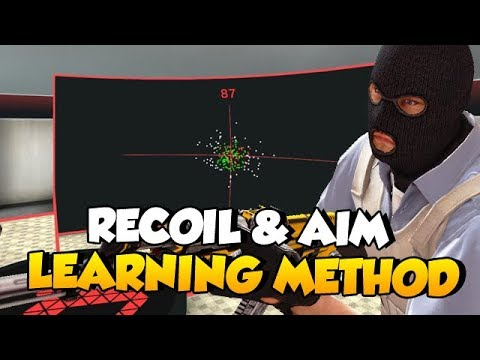 CS:GO - Different way of learning Recoil Control & Aim!