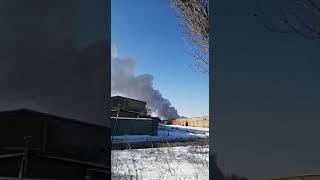 В Ростове на Врубовой загорелся склад