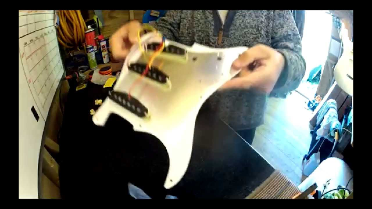 Squier Affinity Strat upgrade and setup