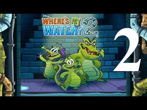 Where's My Water 2 Level 2: Dig Deep 3 Ducks iOS Walkthrough
