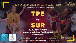 IKF WKC 2019 TPE-SUR
