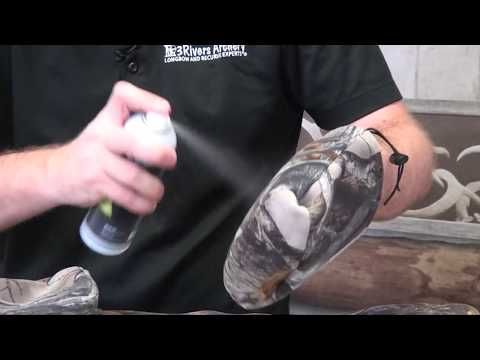 Waterproofing an Archery Quiver with Revivex Water Repellent