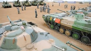 sixth armored division of chinese 38th army opens to media