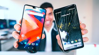 ONEPLUS 6 VS PIXEL 2 XL!
