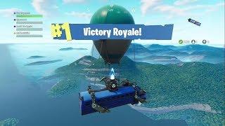 Fortnite winning from the battle bus? Easy!