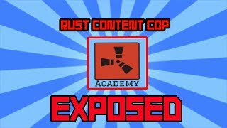 Baixar YouTuber EXPOSED For FAKING CONTENT (Rust Academy) Rust Content Cop