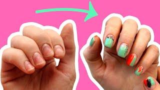 ТОП 11 лайфхаков для ногтей Как отрастить длинные ногти за неделю