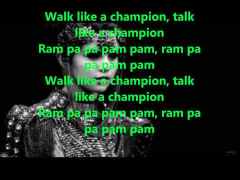 Selena Gomez - Like A Champion (Lyrics): Selena Gomez - Like A Champion (Lyrics), From The Album