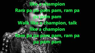 Selena Gomez - Like A Champion (Lyrics)