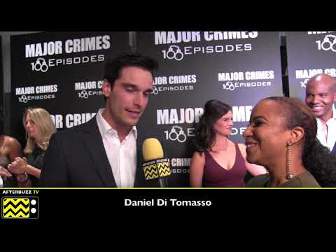 Daniel Di Tomasso  Major Crimes100 Episodes Celebration