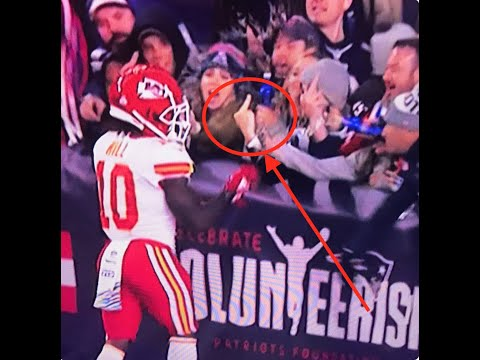 For the Love of Sports with Zach Harris Blog - Fan Throws Beer at Tyreek Hill, Now in Big Trouble