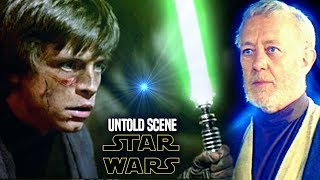 Star Wars! Shocking UNTOLD Scene For Return Of The Jedi Explained (Luke & Obi Wan)