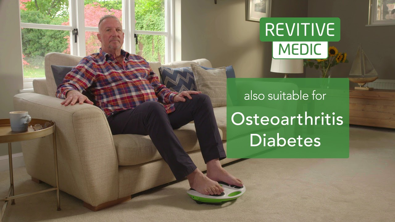 Lord Ian Botham Uses Revitive Circulation Booster Youtube