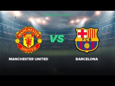 Live Barcelona Vs Manchester United