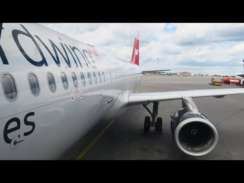 Airbus A321 а/к Nordwind Airlines | Рейс Москва - Симферополь