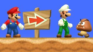 New Super Mario Bros. Wii - 2 Player Co-Op - #03