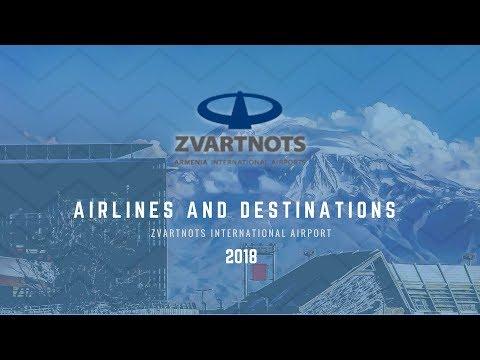 Zvartnots International Airport - New Airlines And Destinations - Part II - 2018