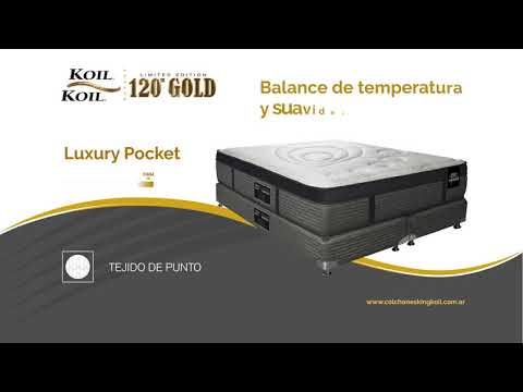 KING KOIL 120 │ LUXURY POCKET