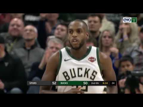 Bucks - Bucks bounce back, beat Spurs 135-129