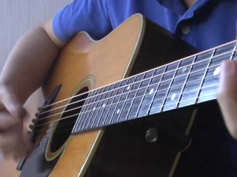 "Playing ""Wildwood Flower""  with Martin D-28 1978"