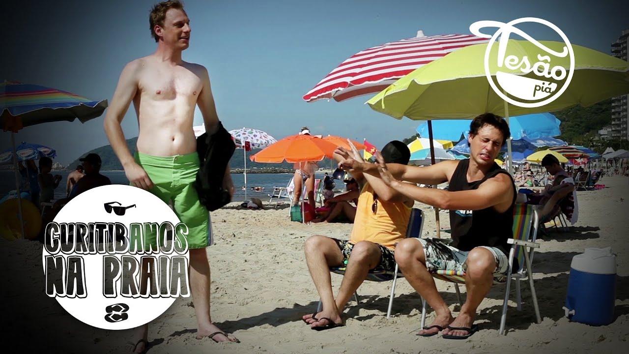 gajas na praia tesao