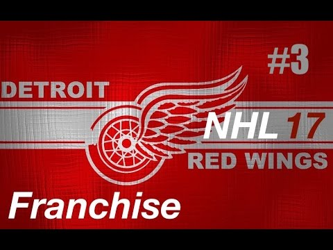 "NHL 17 Franchise | Detroit ep. 3 ""Controversy in the Motor City"""