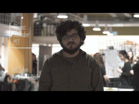 Öğrenci Gözünden MEF Üniversitesi / Arif Şahin - Mimarlık