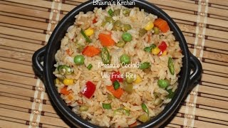 Pressure Cooked Veg Fried Rice Video Recipe  Quickest Instantly  Bhavna&#39s Kitchen