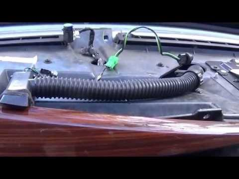 Replacing The Dash Panel Lights 1997 Cadillac Seville SLS