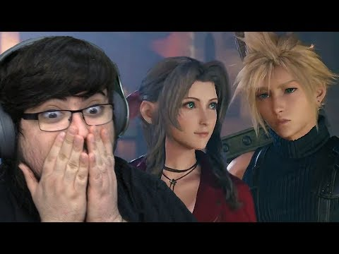 Final Fantasy 7 REMAKE REACTION - NEW TRAILER 5.9.19 (State Of Play)